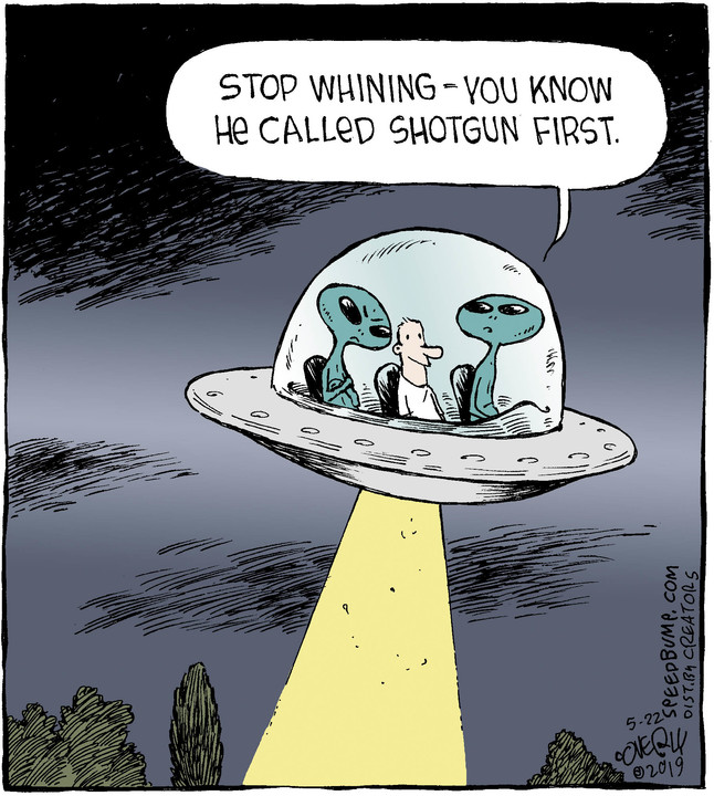 Speed Bump for May 22, 2019