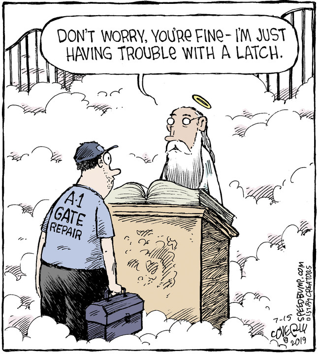 Speed Bump for July 15, 2019