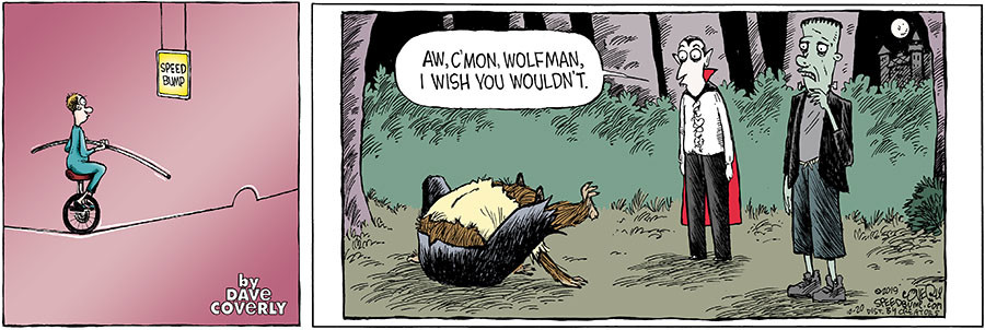 Speed Bump for October 20, 2019