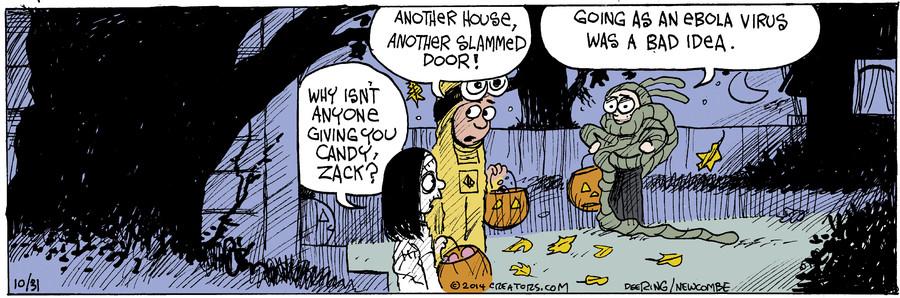 Zack Hill for October 31, 2014