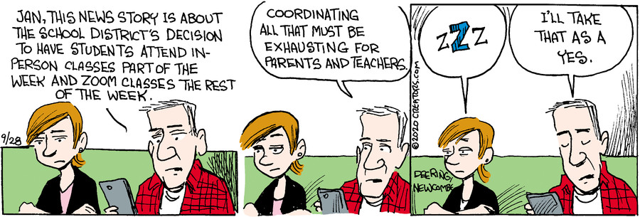 Zack Hill for Sep 28, 2020