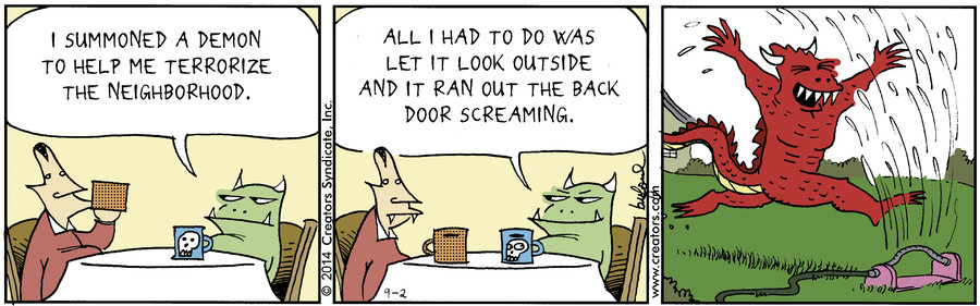 Scary Gary for Sep 02, 2014