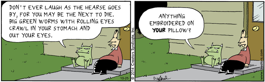 Scary Gary for Oct 25, 2014