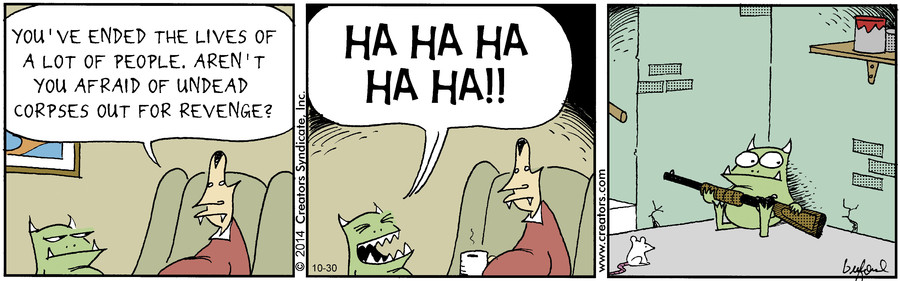 Scary Gary for Oct 30, 2014