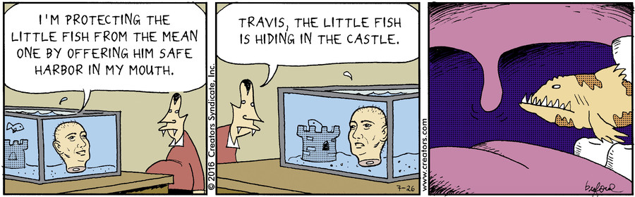 Scary Gary for July 26, 2016