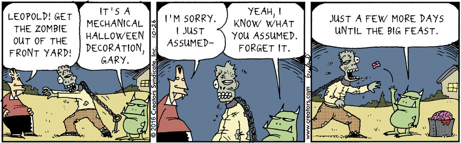 Scary Gary for Oct 26, 2016