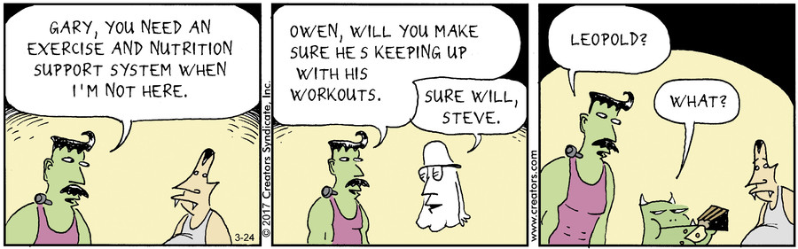 Scary Gary for March 24, 2017