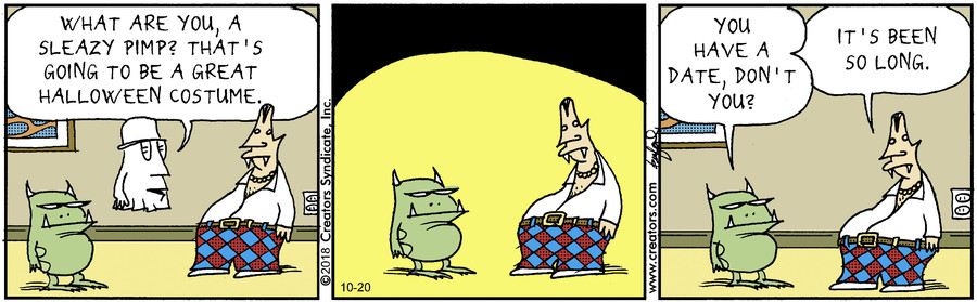 Scary Gary for Oct 20, 2018
