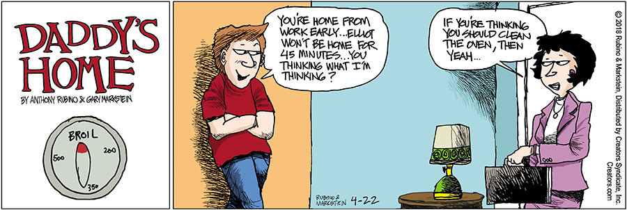 Daddy's Home for Apr 22, 2018