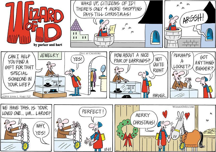 Wizard of Id for Dec 21, 2014