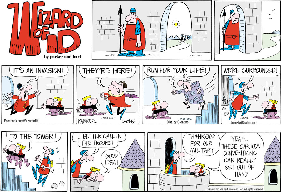 Wizard of Id for May 24, 2015