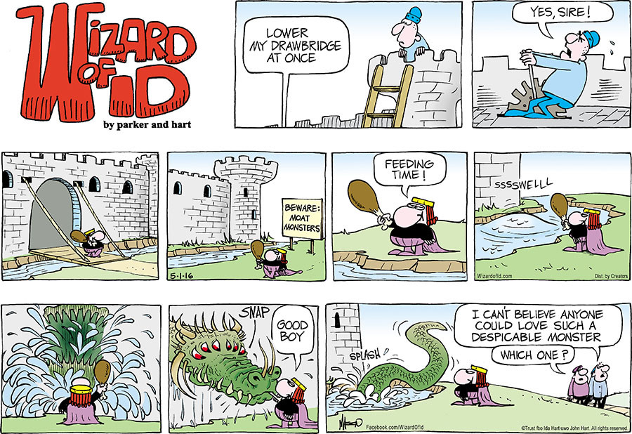 Wizard of Id for May 01, 2016