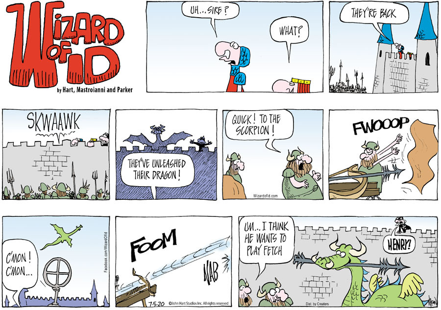 Wizard of Id for Jul 05, 2020