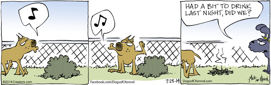 Dogs of C-Kennel for Jul 25, 2014