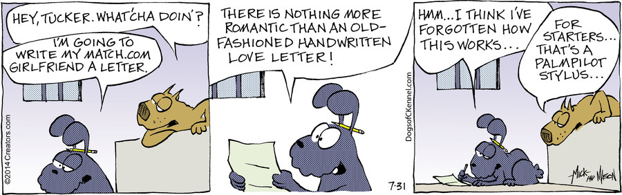 Dogs of C-Kennel for Jul 31, 2014