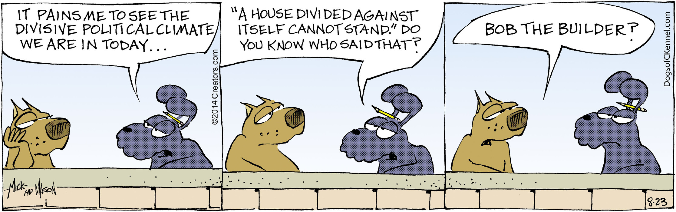 Dogs of C-Kennel for Aug 23, 2014
