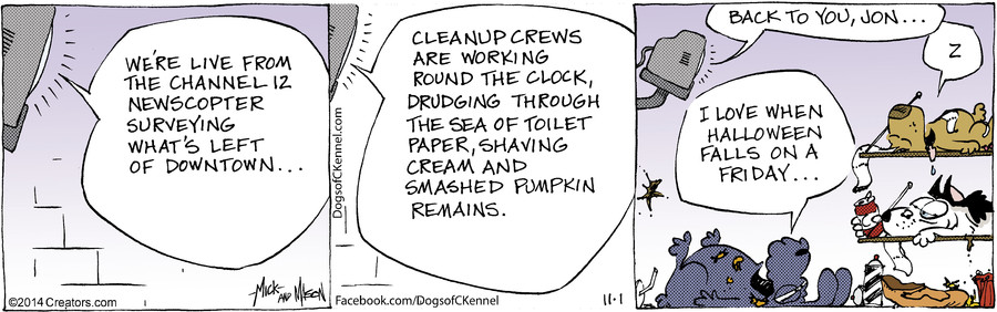 Dogs of C-Kennel for Nov 01, 2014