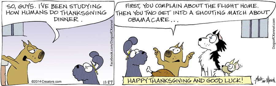 Dogs of C-Kennel for Nov 27, 2014