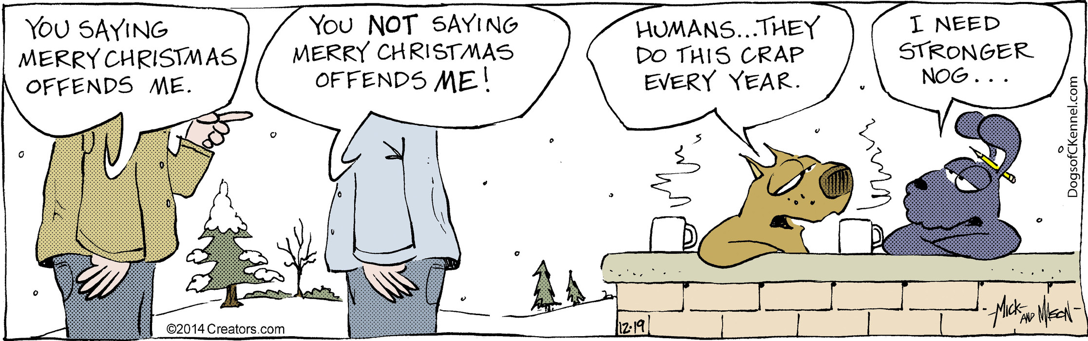 Dogs of C-Kennel for Dec 19, 2014