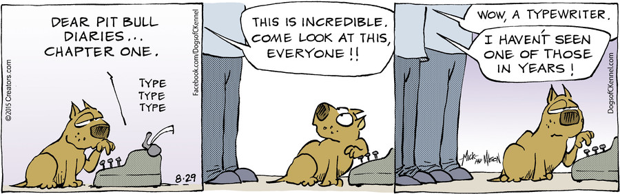 Dogs of C-Kennel for Aug 29, 2015