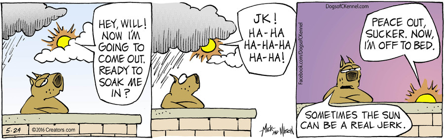 Dogs of C-Kennel for May 24, 2016