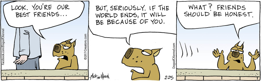 Dogs of C-Kennel for Feb 25, 2017