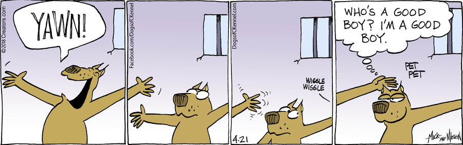 Dogs of C-Kennel for Apr 21, 2018