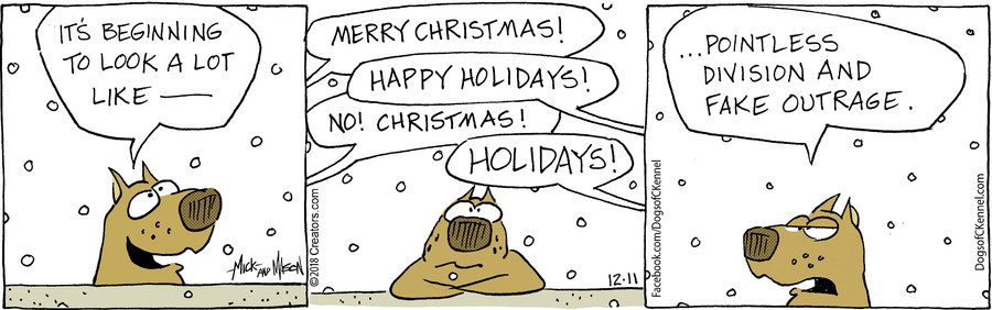 Dogs of C-Kennel for Dec 11, 2018