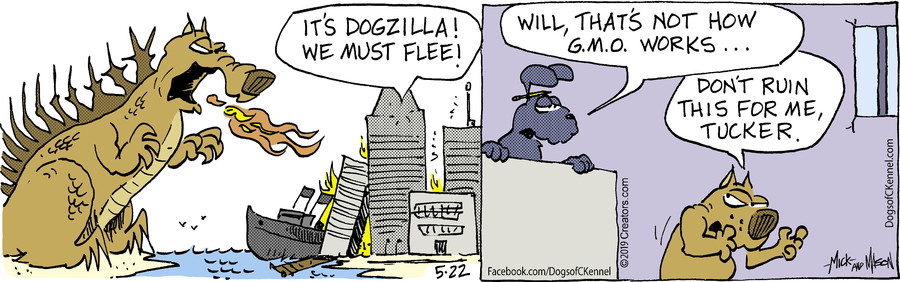 Dogs of C-Kennel for May 22, 2019