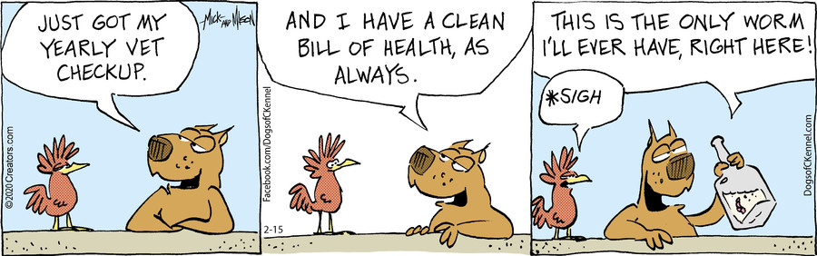 Dogs of C-Kennel for 02/15/2020