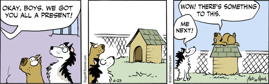 Dogs of C-Kennel for Apr 23, 2021