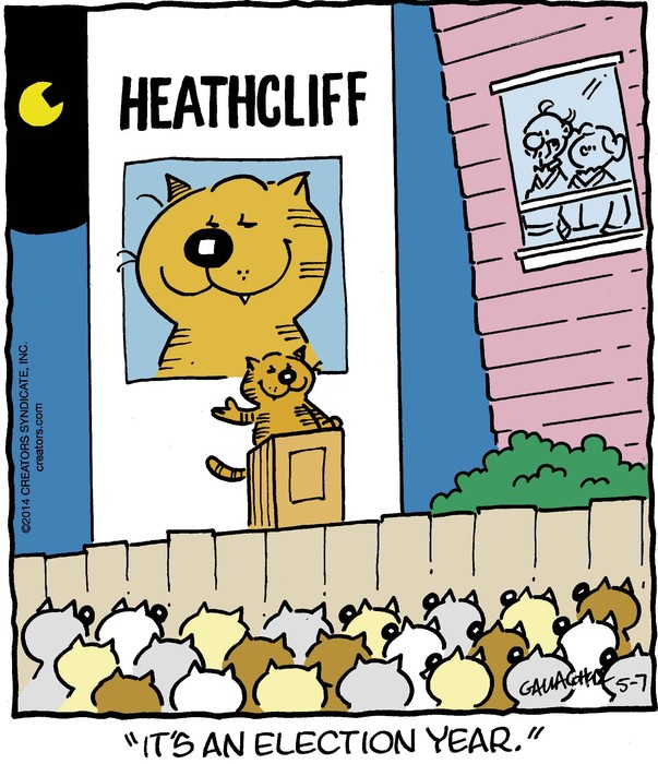 Heathcliff for May 07, 2014