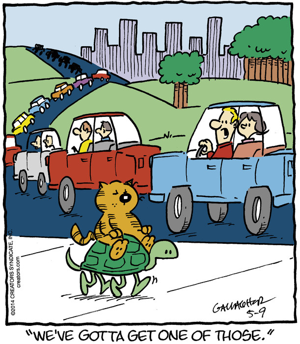 Heathcliff for May 09, 2014