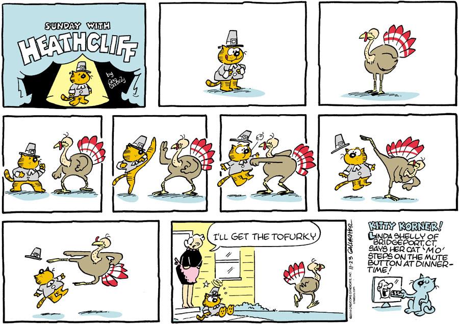 Heathcliff for Nov 23, 2014
