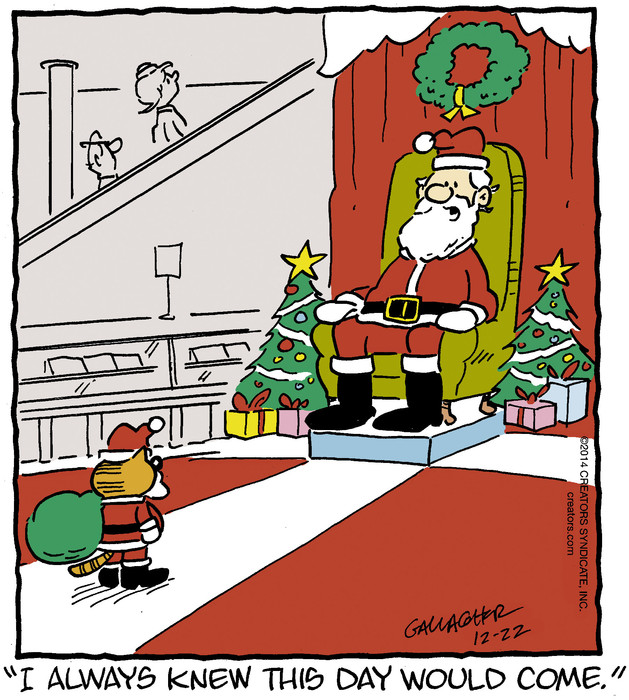 Heathcliff for Dec 22, 2014