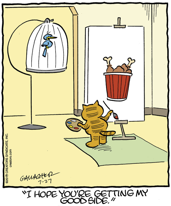 Heathcliff for July 27, 2017