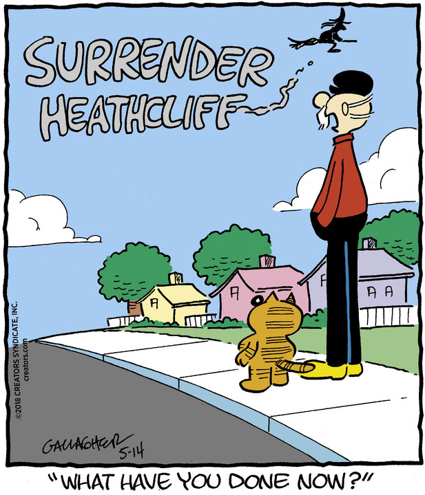 Heathcliff for May 14, 2018