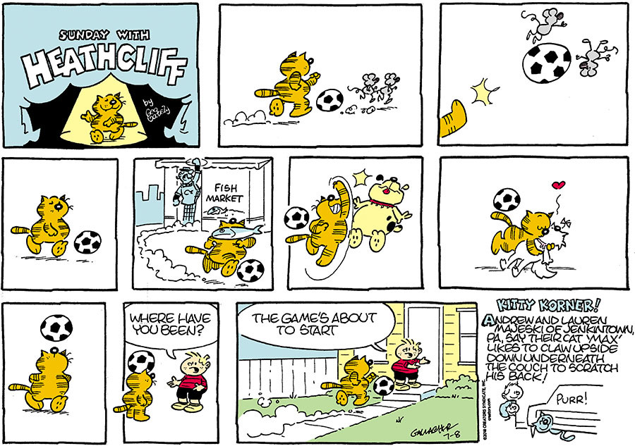 Heathcliff for Jul 08, 2018