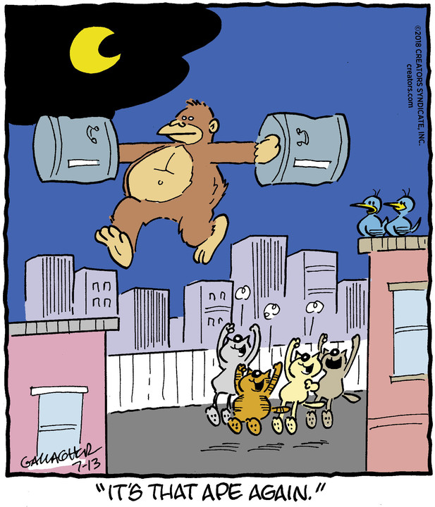 Heathcliff for Jul 13, 2018