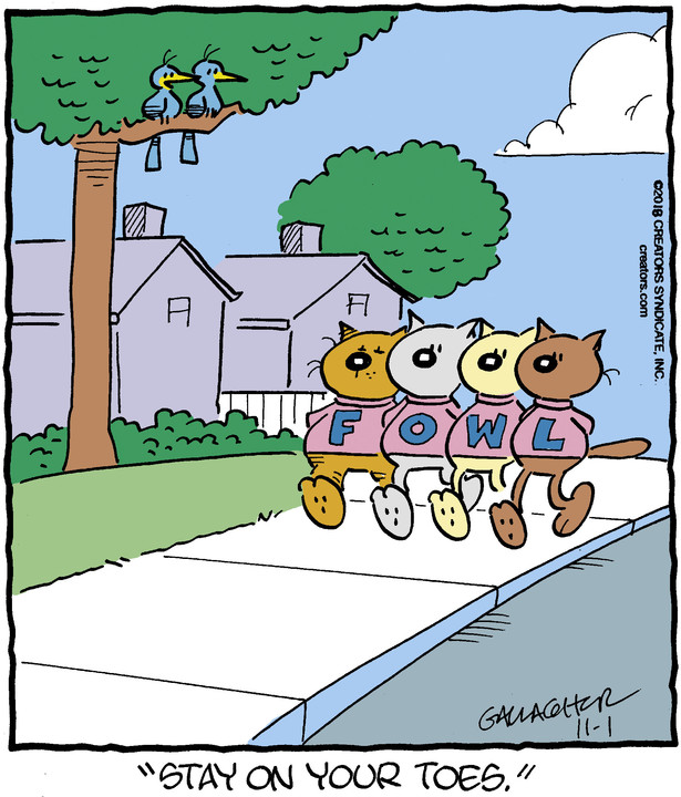 Heathcliff for Nov 01, 2018