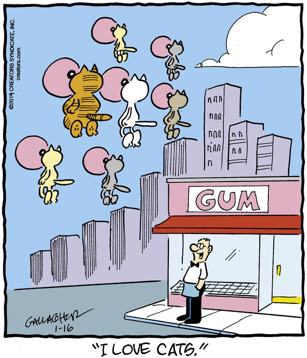 Heathcliff for January 16, 2019