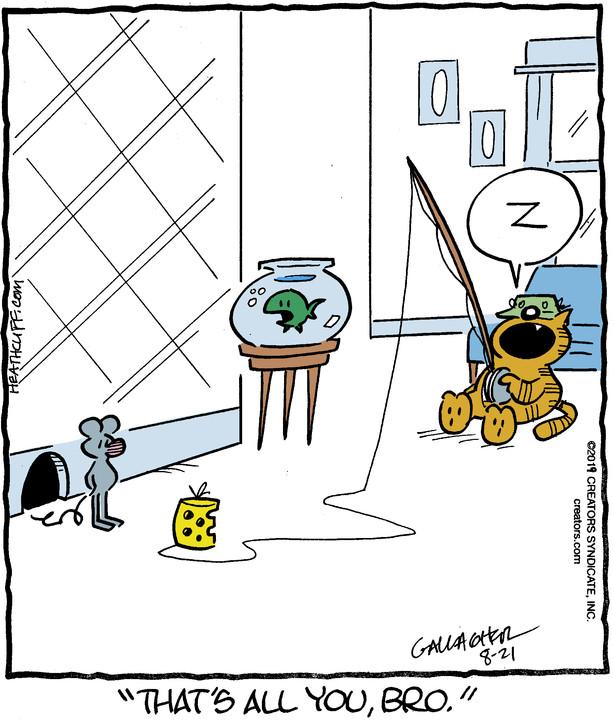Heathcliff for Aug 21, 2019