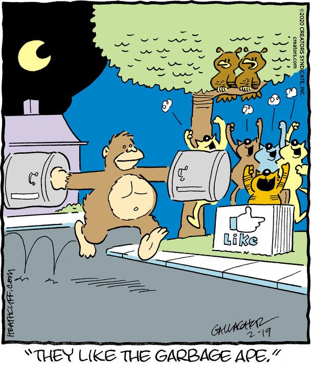 Heathcliff for Feb 19, 2020