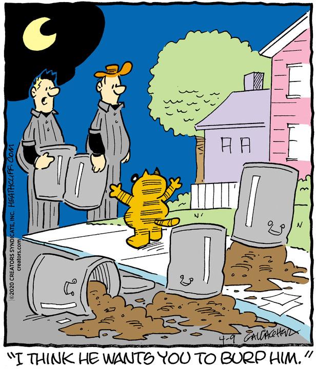 Heathcliff for April 9, 2020