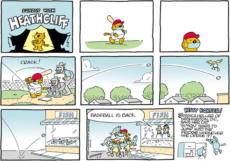 Heathcliff for 07/05/2020