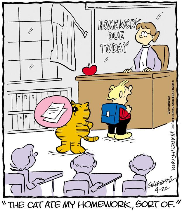 Heathcliff for September 22, 2020