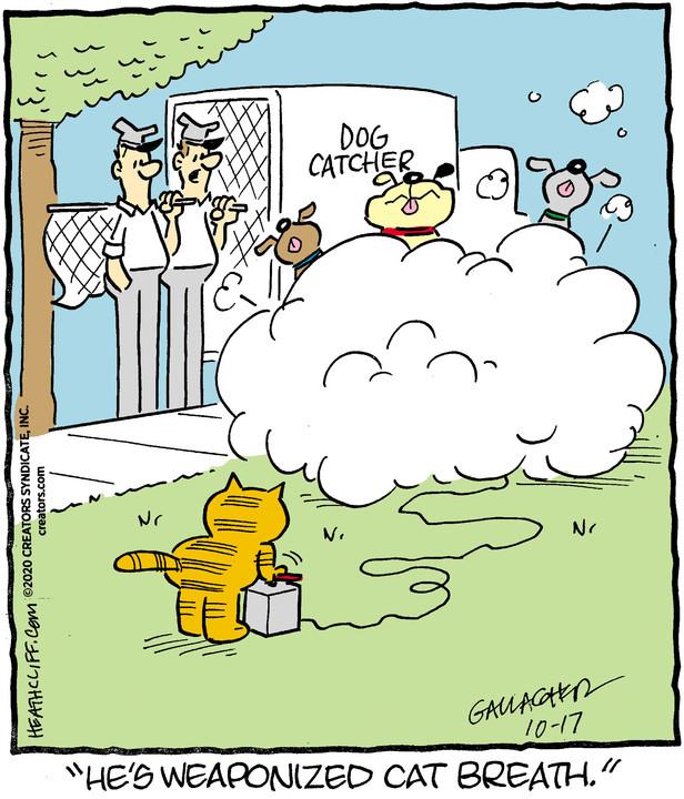 Heathcliff for Oct 17, 2020