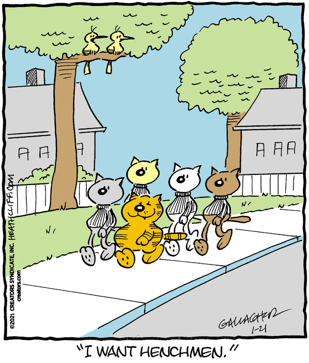 Heathcliff for Jan 21, 2021