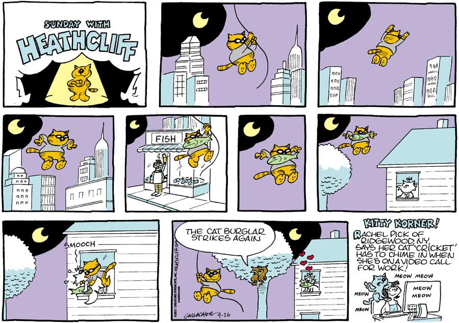 Heathcliff for Sep 26, 2021