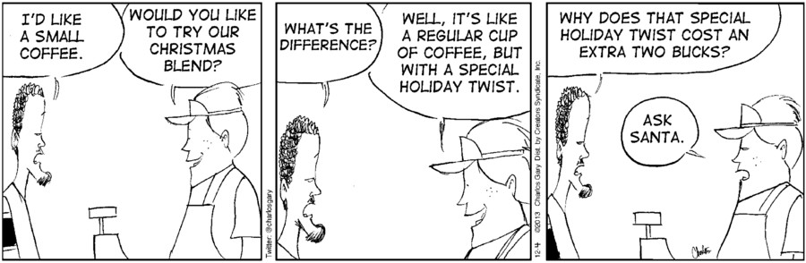 Cafe con Leche for Dec 04, 2013